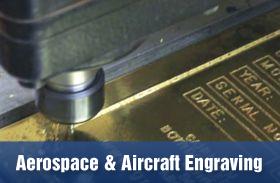 aerospace and aircraft engraving