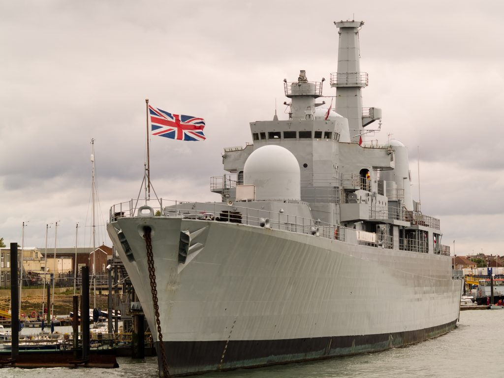 british navy ship electropak bae systems