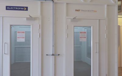 New painting facility for aerospace components